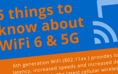 WiFi 6 vs 5G… how does it all fit together?